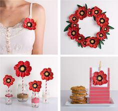 Anzac Day Printable Poppy | Tinyme Blog