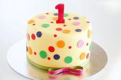 Kindergeburtstagstorte zum 1. Geburtstag bestellen