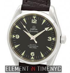 Element In Time | #Omega Aqua Terra 2803.52.37 Railmaster Stainless Steel 39mm
