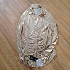 Dress shirt.Firm New never worn this shirt is beautiful 95% Polyester 5% Spandex INC International Concepts Tops Button Down Shirts