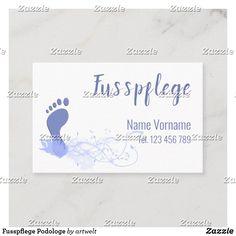 Fusspflege Podologe Visitenkarte Cards Against Humanity, Business Cards