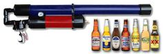Beer Bottle Air Cannon Tennis Ball Cannon, Golf Ball, Air Cannon, American Air, Big Bang Theory, Beer Bottle, Guns, Diy Projects, Awesome