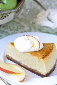 Apple Cheesecake Brulee Recipe