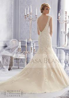 Vestidos de Novia / Mori Lee / NOCM (070) -- // La Casa Blanca // --