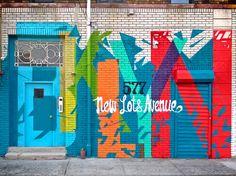 Brooklyn Street Art Mural, ny graffiti artist for hire, Graffiti NY, NY Graffiti, Graffiti Mural, Banksy, Office Graffiti, Graffiti Mural