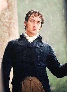 Matthew MacFadyen as Mr. Darcy in Jane Austen's Pride and Prejudice