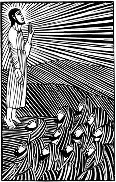Eric Gill, brilliant 20th century iconographer