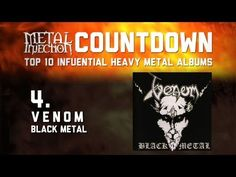 4.VENOM Black Metal - Top 10 Influential Heavy Metal Albums Metal Injection - http://music.tronnixx.com/uncategorized/4-venom-black-metal-top-10-influential-heavy-metal-albums-metal-injection/