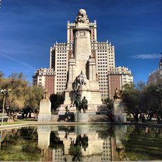 Plaza de España ( Madrid )