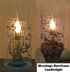 Candlelight Blessings Lamp