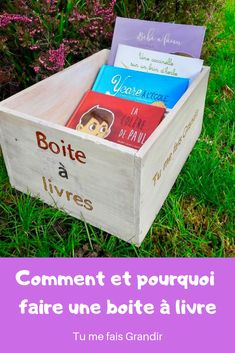 Une boite à livres Little Free Libraries, Baby Room, Toy Chest, Storage Chest, Creations, Blog, Toys, Bookstores, Grow Taller