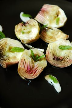 Carciofini sott'olio (coeurs d'artichauts en conserve)