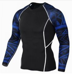 b01e2723a Tops   Tees Mens Compression Shirts Teen Wolf Jerseys Long Sleeve T Shirt  Fitness Men Lycra Mma Crossfit Size Information Size Bust Shoulder Sleeve  Length ...