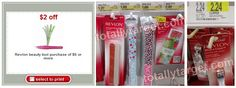 Get 4 Revlon Beauty Tools at Target for $.05 TOTAL!
