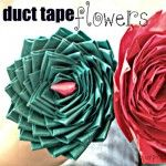 Easy video tutorial on making pen with Rose on top.  Duct Tape Craft Ideas — Saved By Love Creations