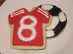 Soccer cookies (for after game snack)