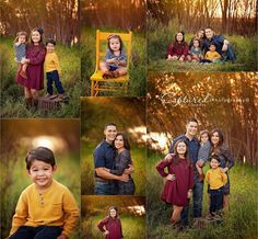 Top outdoor family photography what to wear ideas