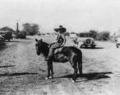 Little Cowboy Sits On Pony 8x10 Reprint Of Old Photo