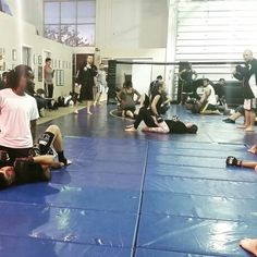Victory MMA gyms 4/29/15 at the competition team tryouts. Working mount escapes.