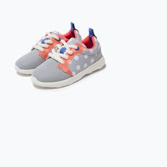 Image 5 of POLKA-DOT SNEAKERS from Zara