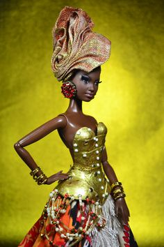 African American Figurines, African American Dolls, Fashion Royalty Dolls, Fashion Dolls, Short Kinky Twists, Original Barbie Doll, African Dolls, Diva Dolls, Gothic Dolls