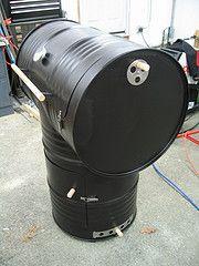 55-gallon drum smoker