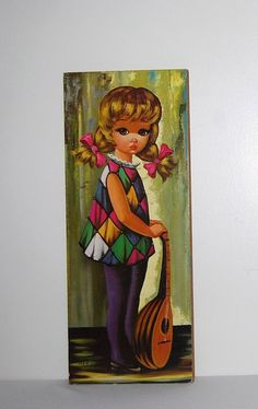 Vintage Groovy Big Eye Print by CheekyVintageCloset on Etsy, $17.50