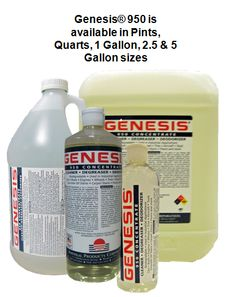 Genesis 950 Stain Remover - The best green pet stain remover & carpet cleaner.