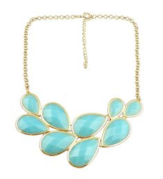 Image of NEW! Waterdrop Necklace available in 9 colors Love this necklace from Caroline G.