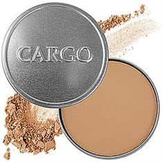 Cargo Cosmetics > Bronzer in Matte Medium --- best bronzer I've ever found. I don't tan my face. I can layer this to match the color of my body w/ out it looking too heavy. Mally Beauty, Diy Beauty, Beauty Makeup, Beauty Hacks, Beauty Tips, Beauty Buy, Beauty Essentials, Beauty Stuff, Beauty Secrets