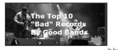 "The Top 10 ""Bad"" Records By Good Bands #SATE #defythetide #novalantern #lilyvsixx #rockrageradio #st.anger #vanhalenIII #loulombardimusic #loudinirockandrollcircus"