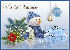 Animovaná vánoční přání | Obrázky, animace ke stažení zdarma Christmas Gifts, Christmas Ornaments, Hanukkah, Holiday Decor, Humor, Google, Xmas, Xmas Gifts, Christmas Presents