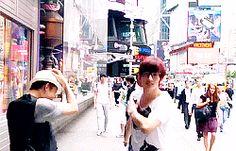 AJ and Kiseop