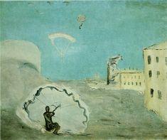 Aleksandr DREVIN | Cēsis, Latvia 1889 - Moscow, Russia 1938. Parachute Descent, 1932