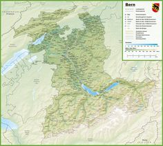Canton of Zrich location on the Switzerland map Maps Pinterest