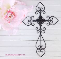 Hey, I found this really awesome Etsy listing at http://www.etsy.com/listing/165794634/black-wall-cross-cross-decor-metal-cross