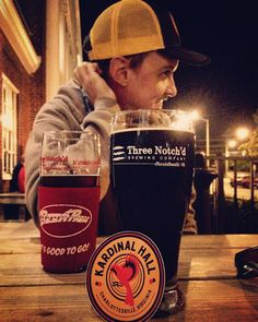 Kardinal Hall Beer Run  Red Oktoberfest at @threenotchdbrewing tonight! $1 of your beer purchase is matched by Three Notchd and donated to @redshoecville. Brews for a good cause? What could be better!  Prost!  #kardinalhall #birdsofafeather #showusyourbeak #enjoylocal #supportlocal #charity #beerme