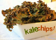 Happy #nationalkaleday Canada! best #kale chips #recipe for #thermomix by superkitchenmachine.com