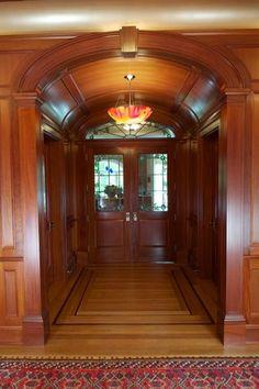 Mahogany Foyer