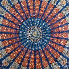 INDIAN MANDALA WALL HANGING TAPESTRY THROW BEDSPREAD ETHNIC HOME DECOR WALL ART on RoyalFurnish.com, $22.99