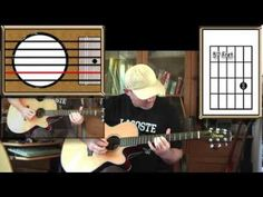 Paint It Black - The Rolling Stones - Acoustic Guitar Lesson (easy-ish) - YouTube