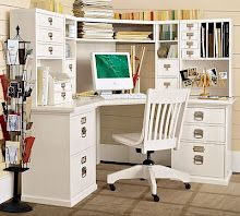 Catchy Desk Hutch Ideas White Home Office Desk Hutch Excellent Corner Accent Table Home Office Desks, Office Decor, Corner Desk With Hutch, Desk Hutch, Corner Office, Corner Accent Table, White Houses, House Rooms, Home Remodeling