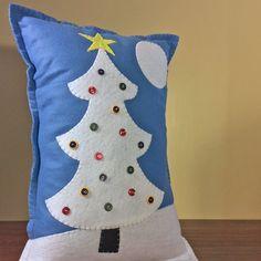 NEW | Christmas Tree Pillow | Felt Pillow | Christmas decor | Christmas Pillow…
