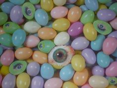 Easter Eyes Mixed Media  - Easter Eyes Fine Art Print