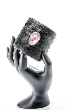 cuff,leather ,gemstone Bangles, Bracelets, Cuffs, Gemstones, Leather, Jewelry, Bangle Bracelets, Bangle Bracelets, Jewellery Making