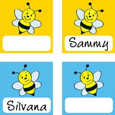 Good Bee Havior Pocket Chart Card Refill by Really Good Stuff Inc Educational Activities For Kids, Preschool Learning Activities, Environmental Print, Preschool Special Education, Spelling Bee, Cute Names, Bee Art, Bee Crafts, Bee Theme