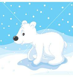 polar bear clip art | Polar bear cub vector art - Download Polar Bear vectors