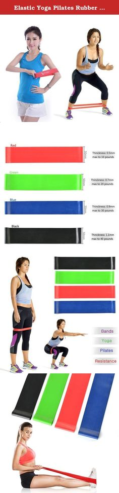 Elastic Yoga Pilates Rubber Stretch Resistance Exercise Fitness Band-Set of 4. Set of 4 Exercise Resistance Loop Bands for Fitness Stretch Therapy Strength Introductions: Professional Grade Flexibility and Strength Workout Bands Resistance- Get your shoul http://www.weightlossjumpstars.com/exercise-affect-metabolic-rate/