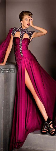 The Versatile Talents of Artisan Blanka Matragi » Blanka Matragi 30th Anniversary Couture Collection jaglady
