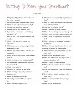 Getting to know your sweetheart better questions - Date Night Questions The Words, Dating Quotes, Dating Humor, Dating Advice, Dating Funny, Healthy Relationships, Relationship Advice, Marriage Advice, Strong Relationship